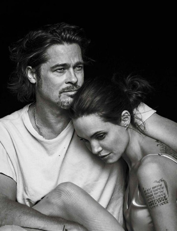 Brad Pitt & Angelina Jolie @ Vanity Fair Italia, November 2015